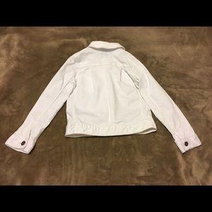 OshKosh B'gosh Jackets & Coats - OshKosh B'gosh White Denim Jacket Girls (like new)